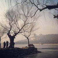 Photo taken at 昆明湖 Kunming Lake by Michelle I. on 2/17/2013