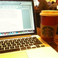 Photo taken at Starbucks by Stephanie S. on 11/1/2013