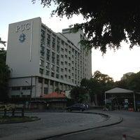 Photo taken at PUC-Rio - Pontifícia Universidade Católica do Rio de Janeiro by Fernando R. on 12/20/2012