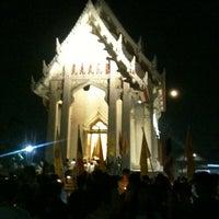 Photo taken at Wat Chonprathan Rangsarit by Pariphat T. on 2/25/2013