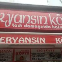 Photo taken at Veryansın Köfte by Gamze Y. on 8/28/2014
