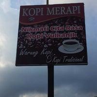 Photo taken at Warung Kopi Merapi by Nicki A. on 8/25/2013