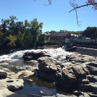 Photo taken at Shelburne Falls, MA by Bud A. on 9/23/2014