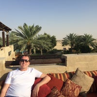 Photo taken at Rooftop Bar Bab Al Shams by Charlotte W. on 3/26/2016