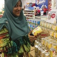 Photo taken at Pasaraya HERO (Hypermarket) by Liyana A. on 2/7/2017