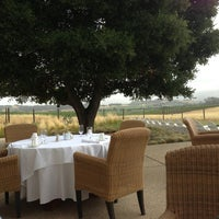 Photo taken at The Hilltop Dining Room at The Carneros Inn by Lisa L. on 6/15/2013