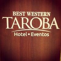 Photo taken at BEST WESTERN Tarobá Hotel e Eventos by Joel D. on 1/13/2013