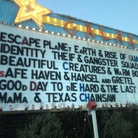 Photo taken at Galaxy Drive In Theatre by Lindsay O. on 2/18/2013
