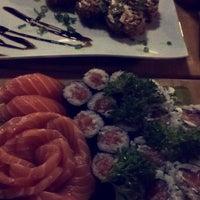 Photo taken at Sushi Box by Rebeca L. on 9/20/2015