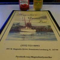 Photo taken at Magnolia's Oyster Bar by Helene R. on 5/16/2017