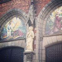 Photo taken at Eglise de la Madeleine by Sacha K. on 8/14/2013