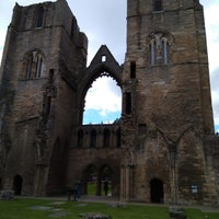 Photo taken at Elgin Cathedral by Cece D. on 8/17/2017