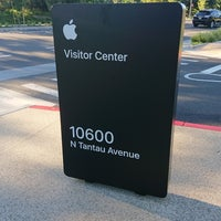 Photo taken at Apple Park Visitor Center by Cece D. on 8/6/2018