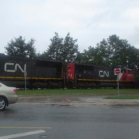 Photo taken at Sussex Train Station by Mike L. on 9/5/2013