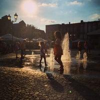 Photo taken at Kościerzyna Rynek by Tomek N. on 7/29/2014
