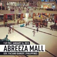 Photo taken at Abreeza Mall by Joseph S. on 1/16/2013