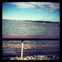 Photo taken at Pier 701 Restaurant & Bar by Meghan on 10/12/2013