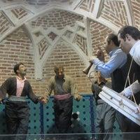 Photo taken at Qajar Bath | حمام و موزه قجر by Ali K. on 2/13/2017