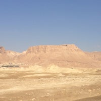 Photo taken at Masada by Monica B. on 7/1/2013