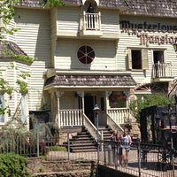 Photo taken at Mysterious Mansion by Monica B. on 4/24/2014