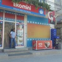 Photo taken at EKOMİNİ  MARKET by Mustafa T. on 10/6/2016