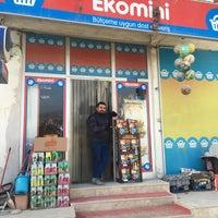 Photo taken at EKOMİNİ  MARKET by Mustafa T. on 2/4/2018