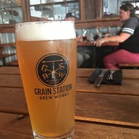 Photo taken at Grain Station Brew Works by Jason S. on 8/15/2017