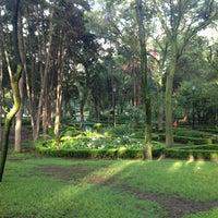 Photo taken at Parque Luis G. Urbina (Parque Hundido) by Pablo E. on 7/20/2013