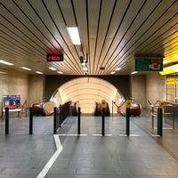 Photo taken at Metro =B= Karlovo náměstí by Lukáš M. on 4/26/2017
