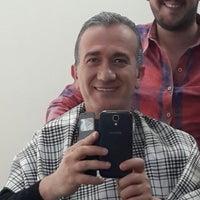 Photo taken at Aydın Hair Studio by Zeki K. on 3/2/2015