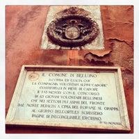 Photo taken at Municipio di Belluno by Andrea B. on 1/14/2013