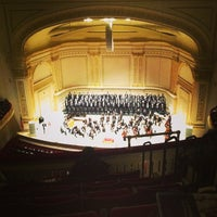 Foto scattata a Carnegie Hall da Chris L. il 2/27/2013
