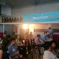 Photo taken at Hub Madrid by Marina C. on 7/21/2016