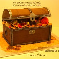 Photo taken at Cake d'Arte by Cake d'Arte on 8/12/2014