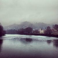 Photo taken at Passerella Chiaves by Corrado C. on 1/29/2014