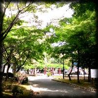 Photo taken at 駅東公園 by 我輩 ♥. on 9/29/2013