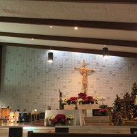 Photo taken at ST. James Church by Don W. on 12/24/2015