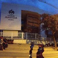 Photo taken at Colégio Adventista by Jatir M. on 2/16/2013