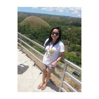 Photo taken at The Chocolate Hills by Rika U. on 4/11/2015