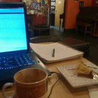Photo taken at Michelangelo's Coffee & Wine Bar by Jeffrey D. on 1/3/2013