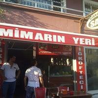 Photo taken at Mekan61 (Çiğkofteci Sait) by Özlem A. on 8/29/2015