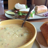 Photo taken at Panera Bread by Stephanie J. on 7/9/2013