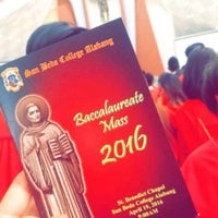 Photo taken at Chapel of St. Benedict by Ericka Anne P. on 4/19/2016