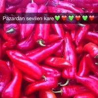 Photo taken at Salı Pazarı by Güler K. on 7/28/2015