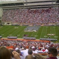 Photo taken at Lane Stadium/Worsham Field by Patrick P. on 9/22/2012