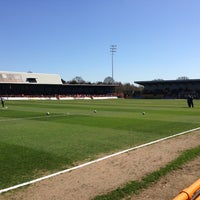 Photo taken at Underhill Stadium by Andy E. on 4/20/2013