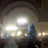 Photo taken at Kaarli kirik by Kirill B. on 12/27/2012