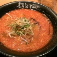 Photo taken at 麺's room 神虎 なんば店 by Hideto O. on 1/20/2013