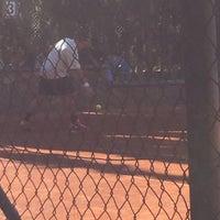 Photo taken at A.O.K. Tennis Club by Anna H. on 11/5/2015