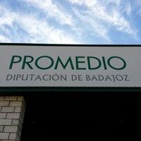 Photo taken at Promedio Diputación de Badajoz by Gervasio B. on 6/17/2013